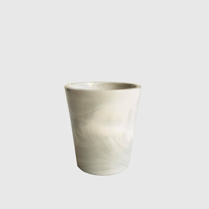 Grey Porcelain Cup by Raili Keiv