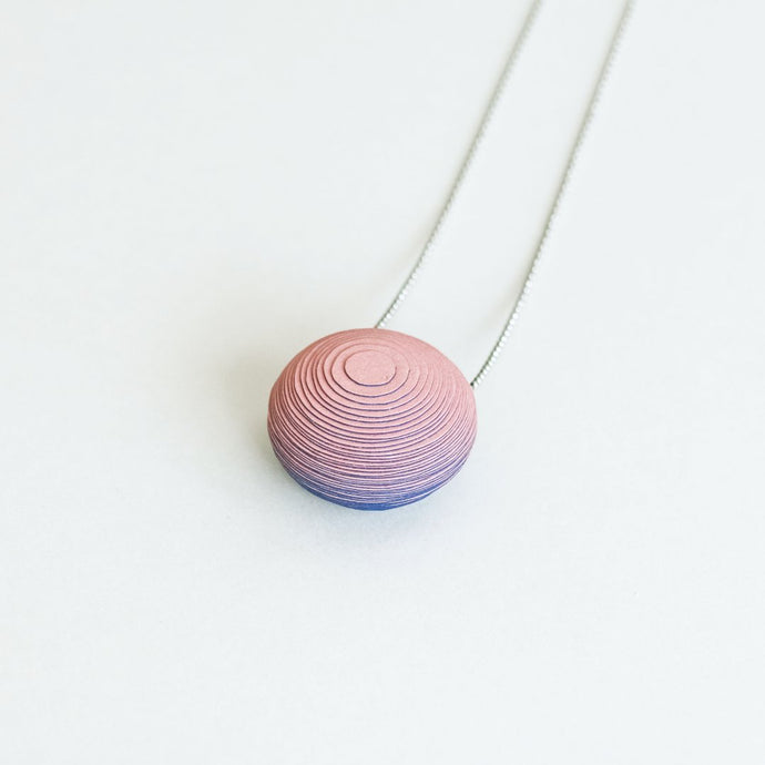 Bonnie Necklace Rose & Blue - NID