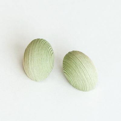 Bonnie Earrings Pale Yellow & Green - NID