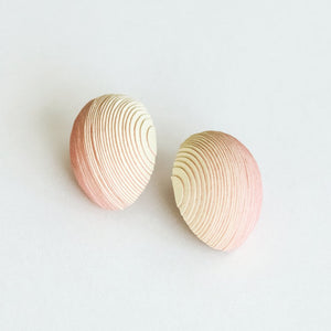 Bonnie Earrings Pale Yellow & Rose - NID