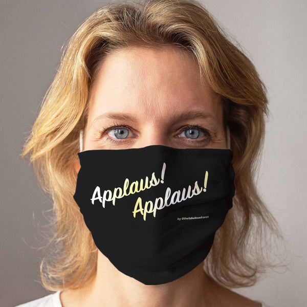 Cloth Face Mask: Applause