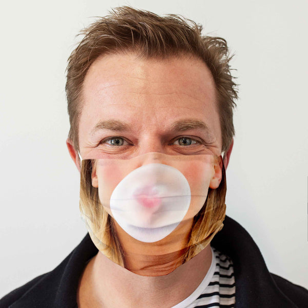 Cloth Face Mask: Bubblegum