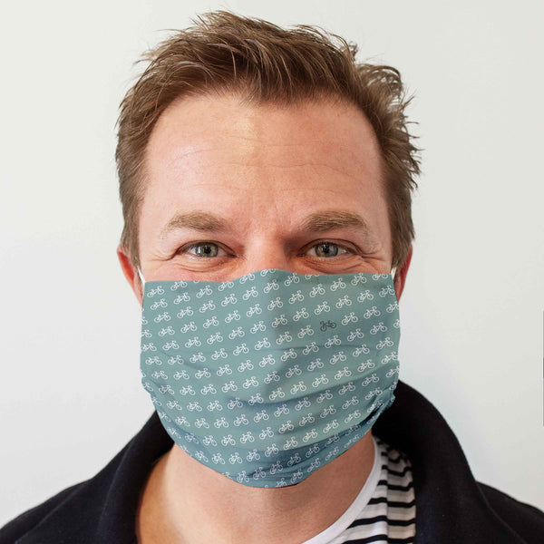 Cloth Face Mask: Bicycle