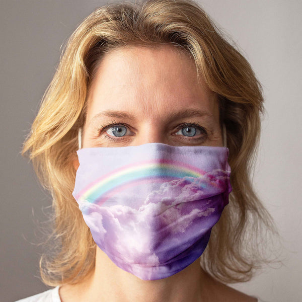 Cloth Face Mask: Rainbow