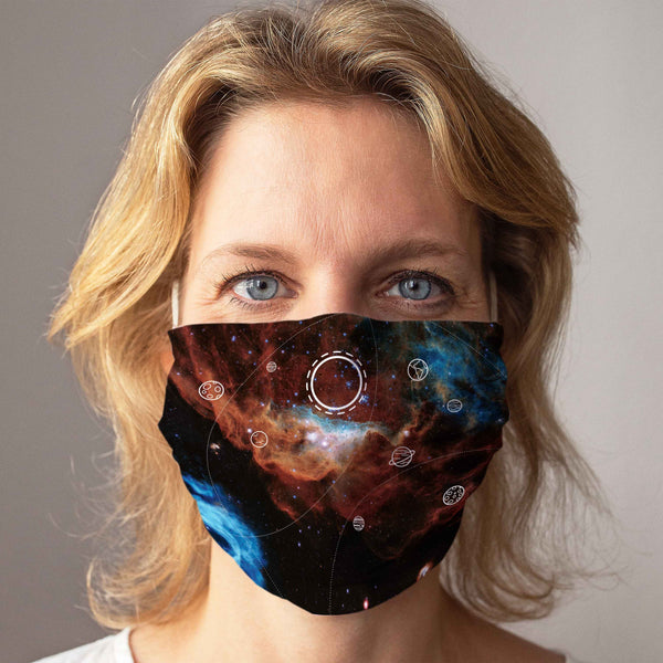 Cloth Face Mask: Stardust