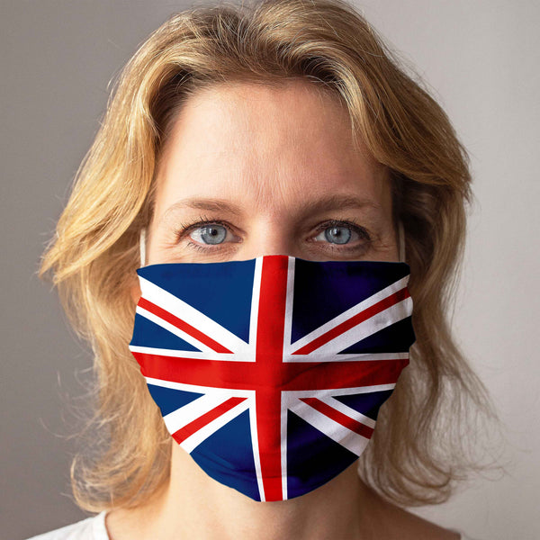 Cloth Face Mask: Union Jack