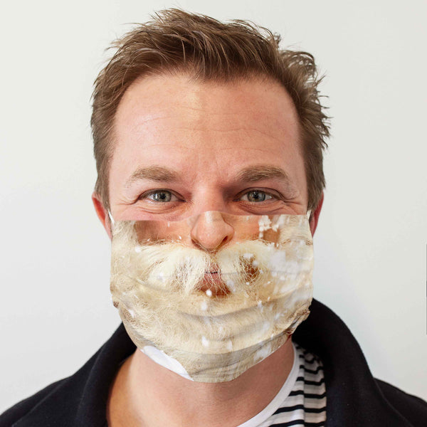 Community Face Mask: Santa Claus