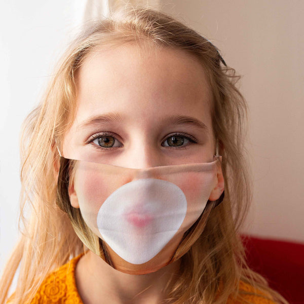Cloth Face Mask for Children: Bubblegum