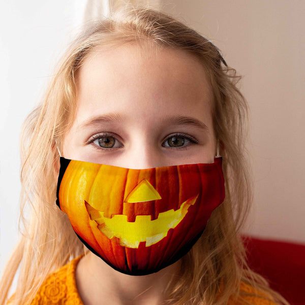 Limited Edition Children's Cloth Mask: Halloween