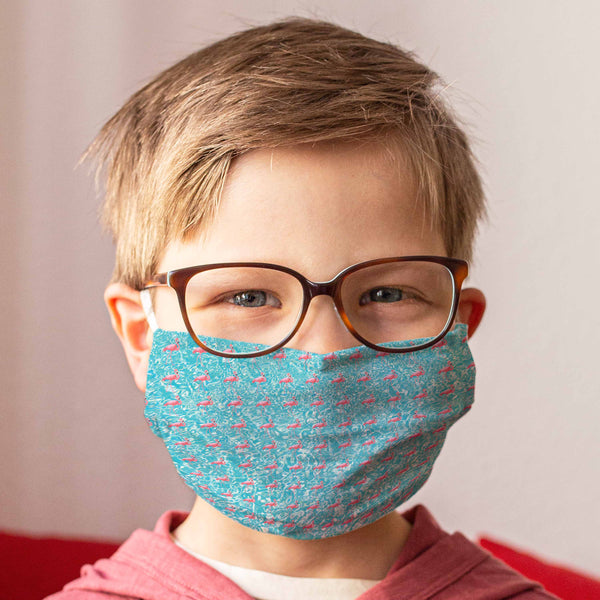 Cloth Face Mask for Children: Malibu