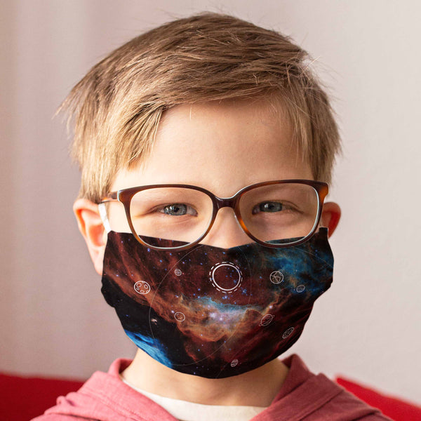 Cloth Face Mask for Children: Stardust