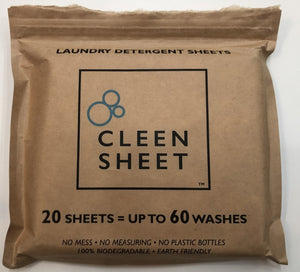Mothers Day Cleen Sheet (2x20pk) 2 For 1