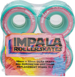 4 PACK WHEELS - AQUA