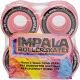 4 PACK WHEELS - PINK