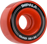 4 PACK WHEELS - RED
