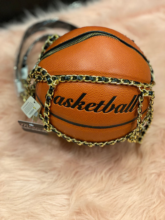Large basketball purse