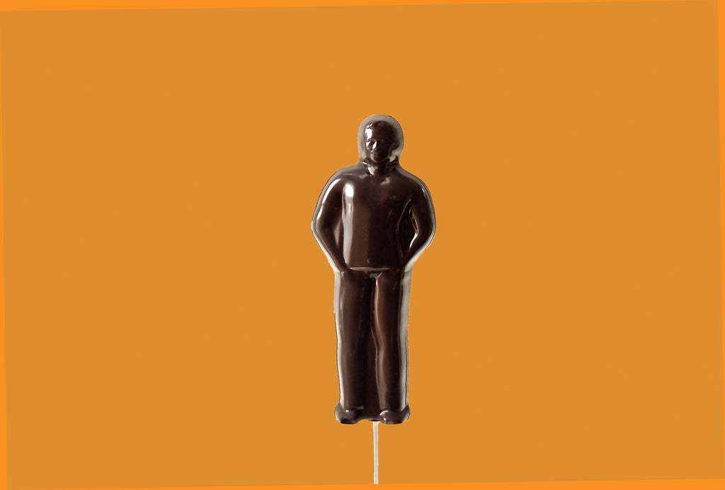 Eos Dark Chocolate Man (Solid) - Eos Chocolates