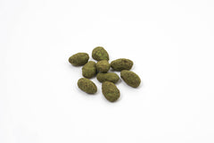 Chocolate Covered Almonds with Matcha - Eos Chocolates