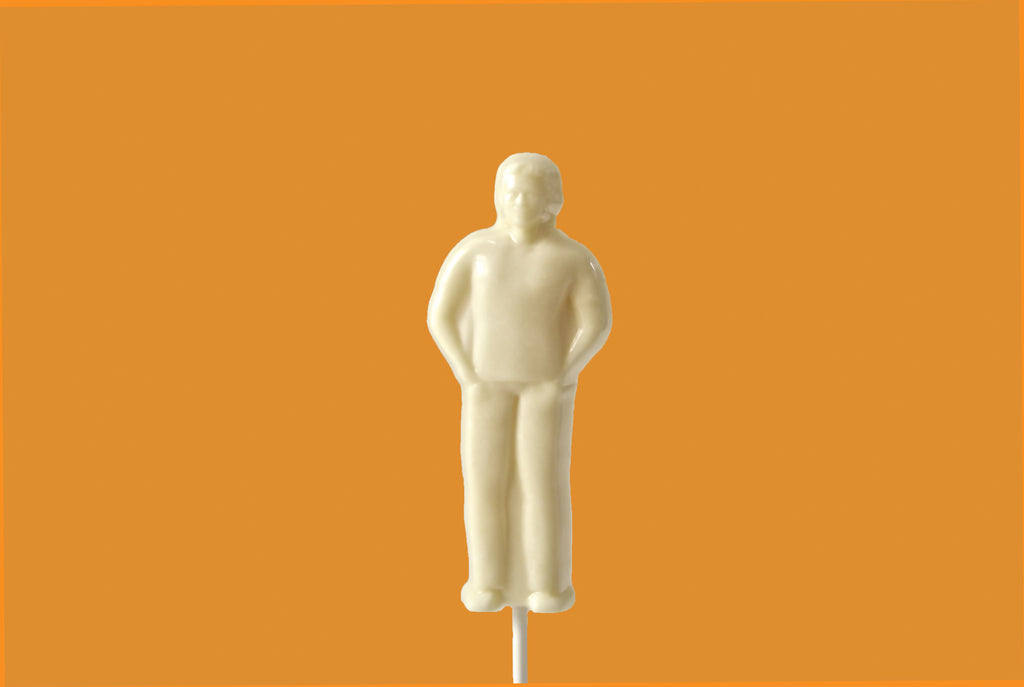 Eos White Chocolate Man (Solid) - Eos Chocolates