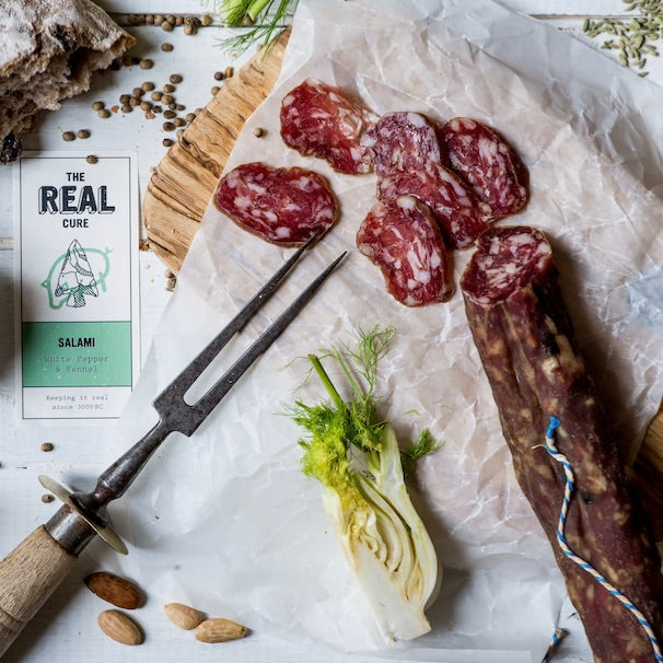 Fennel and White Pepper Salami