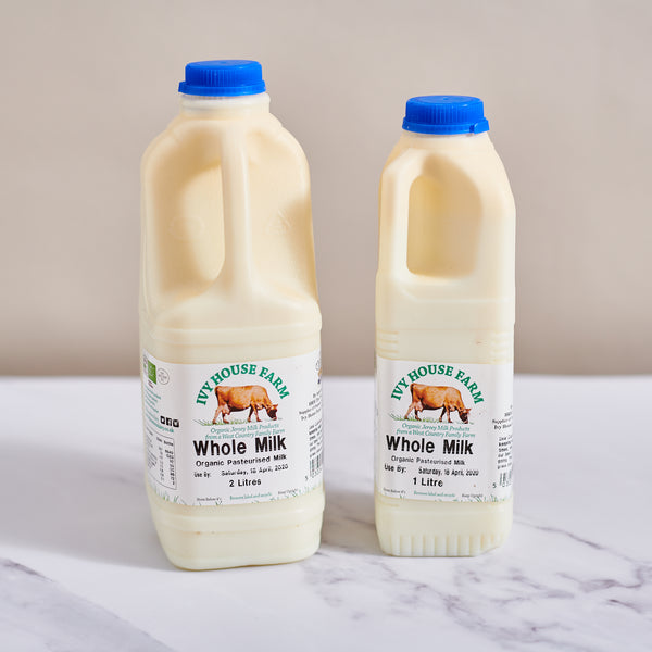Organic Ivy House Whole Milk