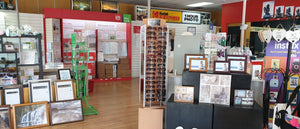 Interior of Photo Corner Hokitika