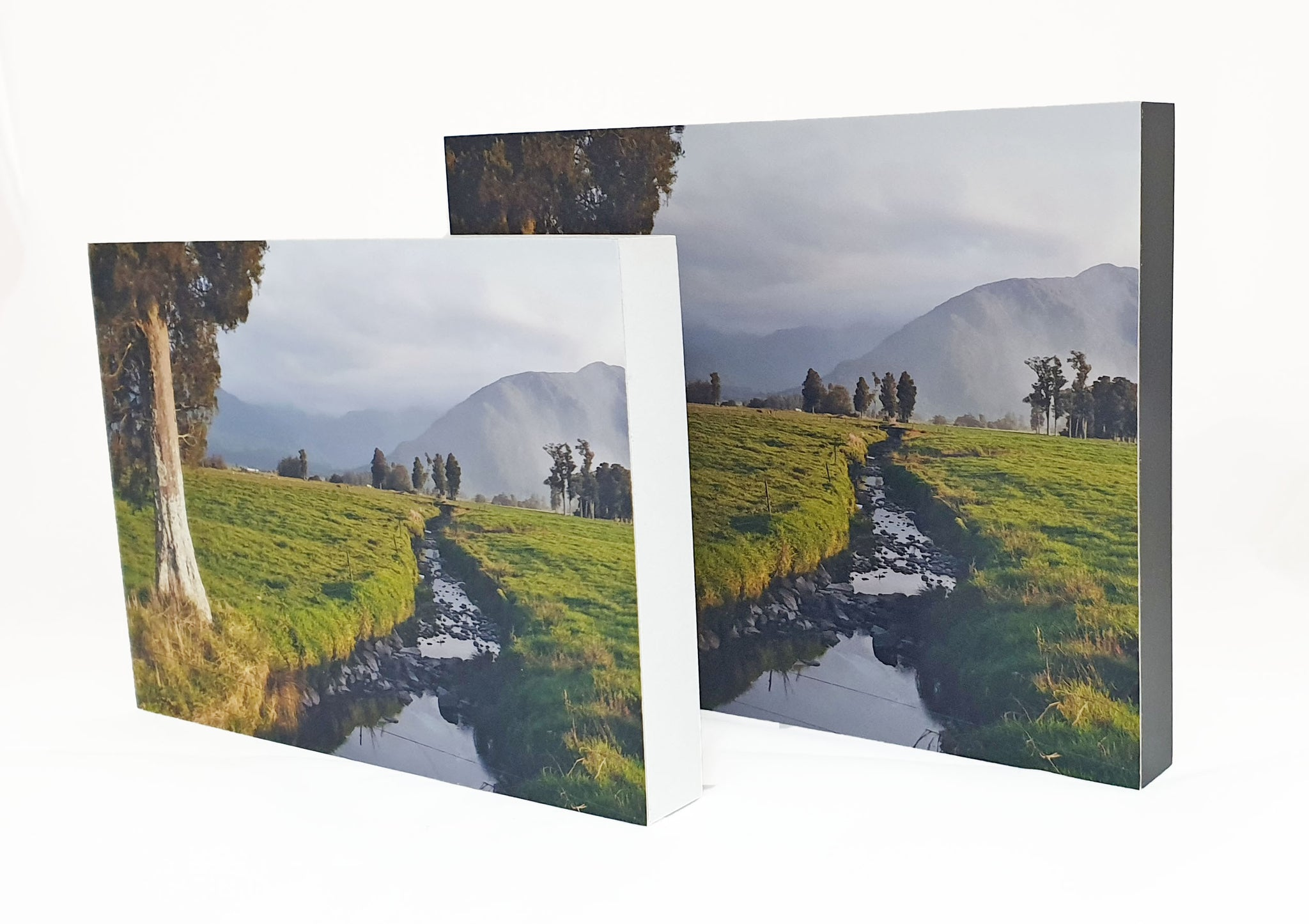 4x4 inch White Photo Block