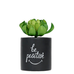 Positive Faux Pot Plant