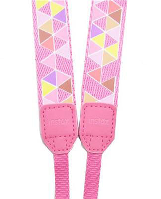 Instax Mini 9 Camera Strap - Multi Pink