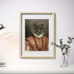 The Queen of Love - Frames - Pawtrait.dxb