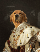 Load image into Gallery viewer, The King - Premium Canvas - Pawtrait.dxb