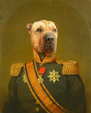 Load image into Gallery viewer, The Colonel - Digital copy - Pawtrait.dxb