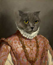 Load image into Gallery viewer, The French Queen - Premium Canvas - Pawtrait.dxb
