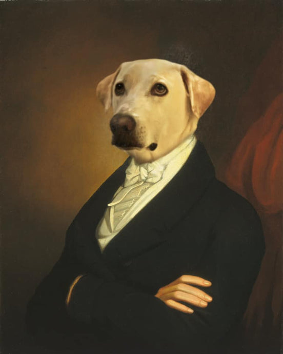 The Ambassdor - Digital copy - Pawtrait.dxb
