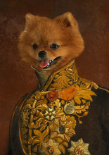 Load image into Gallery viewer, The Charming Prince - Premium Canvas - Pawtrait.dxb