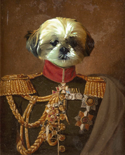 Load image into Gallery viewer, The Veteran of Love - Premium Canvas - Pawtrait.dxb