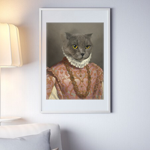 Load image into Gallery viewer, The French Queen - Frames - Pawtrait.dxb