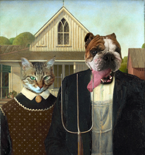 Load image into Gallery viewer, The Farmers - Premium Canvas - Pawtrait.dxb