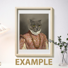 Load image into Gallery viewer, The king - Frames - Pawtrait.dxb