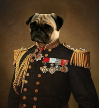 Load image into Gallery viewer, The General of Blueberries - Premium Canvas - Pawtrait.dxb