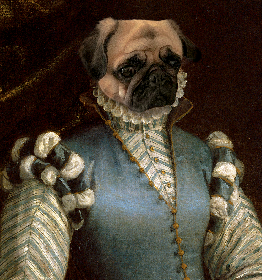 The Real Princess - Digital copy - Pawtrait.dxb