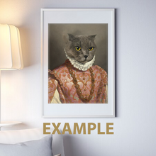 Load image into Gallery viewer, The General of Blueberries- Frames - Pawtrait.dxb
