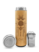 Load image into Gallery viewer, Love Bamboo Tumbler 17.9 oz - Luminous Soul LLC