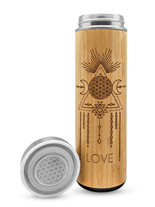 Love Bamboo Tumbler 17.9 oz - Luminous Soul LLC