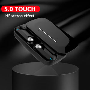 Tkey BE36 Stereo Channel Noise Cancelling Mini Ergonomic In Ear With Charging Box Dual Microphone Wireless Earphones Bluetooth