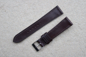 Kangaroo Leather Strap in Brandy (Greasy Roo) - Artisan Straps