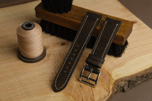 Habana Calf Leather Strap in Whiskey - Artisan Straps