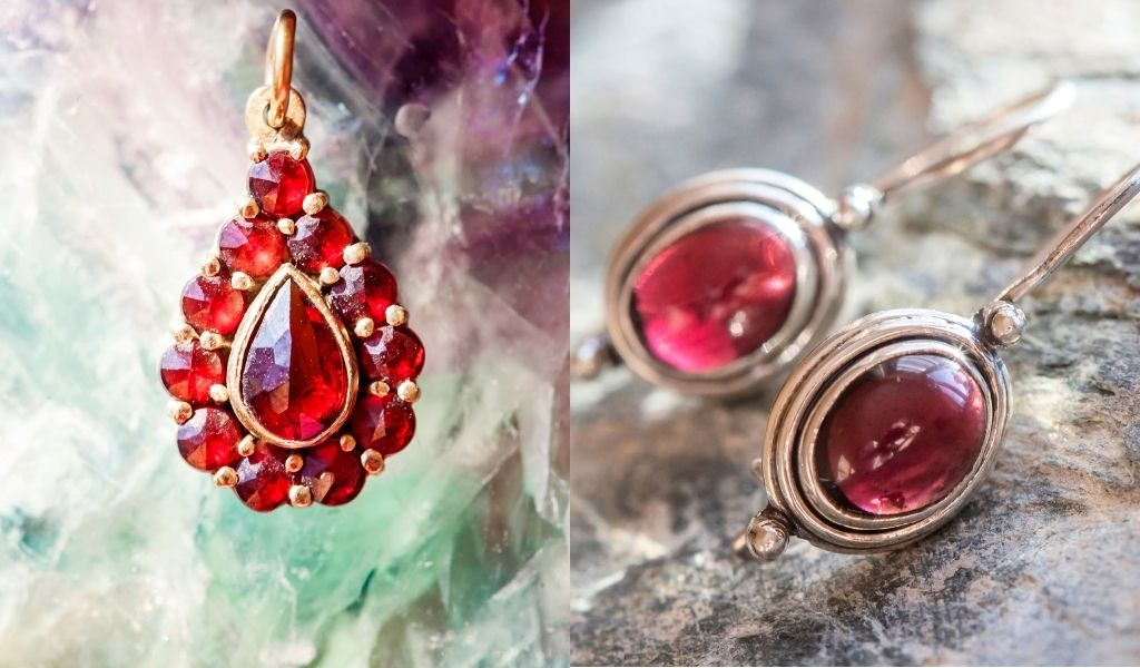 Garnet February Birthstone - Garnet Jewelry