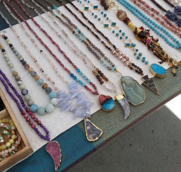 Necklaces at Lincoln Rd Market