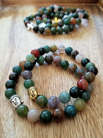 Indian Agate bracelet - Made to Order